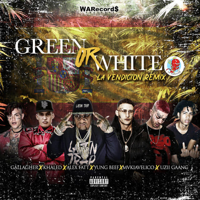 Alex Fatt – Green Or White RMX La Vendicion ft. Young Beef, Gallagher, Mvkiavelico, Khaled (Esp), Uzii Gaang